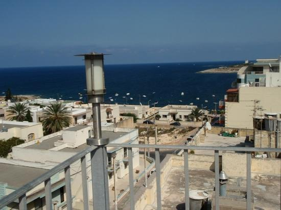 Qawra Point Holiday Complex: view from roof