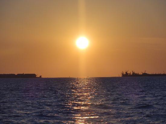 New Moon Sailing: Beautiful sunset
