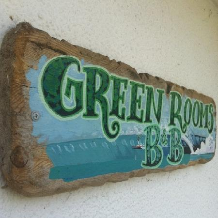 Green Rooms B&B : Green Rooms