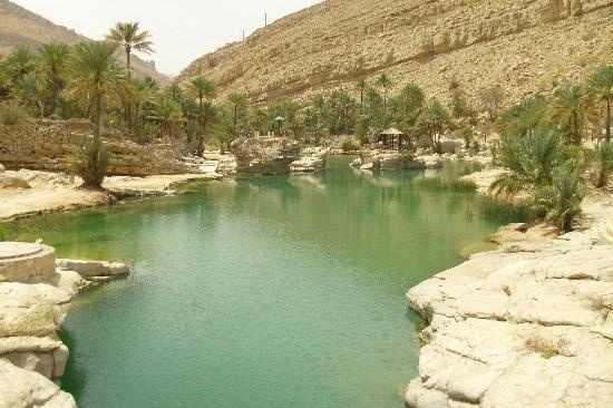 Omán: Wadi Bin Khalid