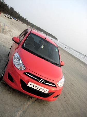 Muzhappilangad Drive-in Beach: The beach..