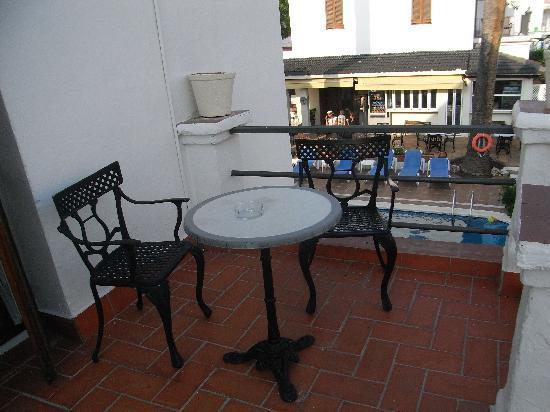Hotel Capri: Balcony