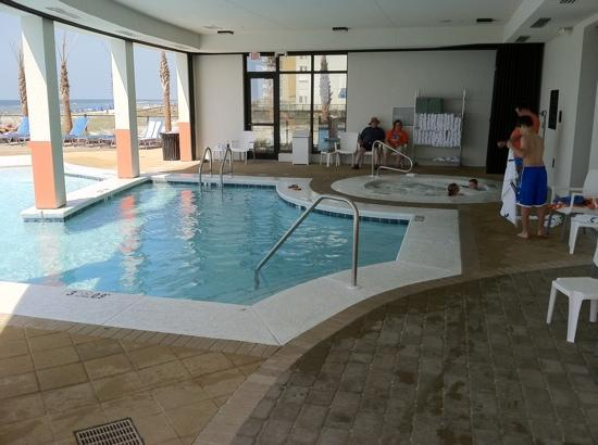 Hampton Inn & Suites Orange Beach: hot tub & pool
