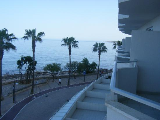 Protur Alicia Hotel: view from our balcony looking towards Cala Millor