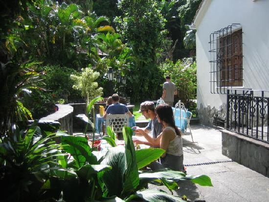 Casa Beleza: Breakfast terrace