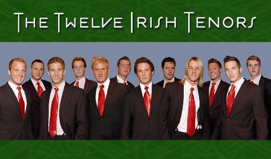 King's Castle Theatre: The Twelve Irish Tenors