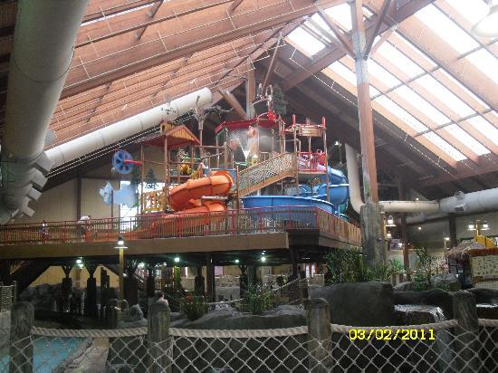 Six Flags Great Escape Lodge & Indoor Waterpark: Park