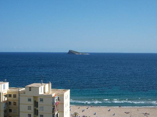 Hotel Poseidon Playa: las vistas desde la habitacion