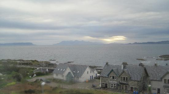 Mallaig, UK: view from room