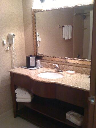 Best Western Plus Rama Inn: Large vanity and mirror