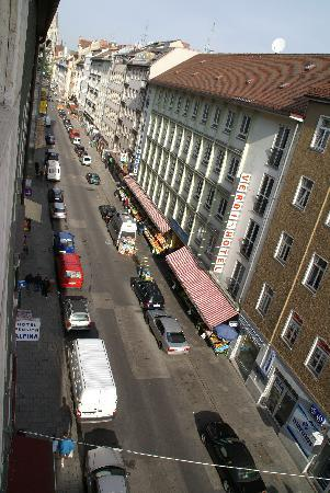 Smart Stay Hotel Schweiz: View from window of room 502