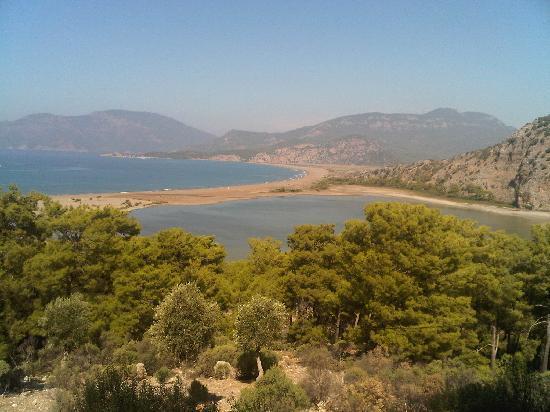 Dalyan, Turkey: view of Iztuzu beach!