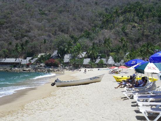 Casa Rosa: The beach