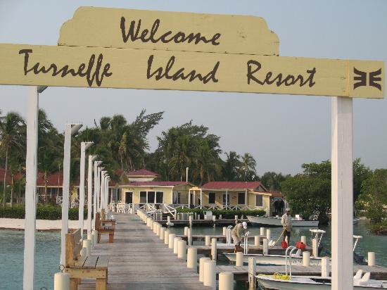 Turneffe Island Resort: Boat Dock