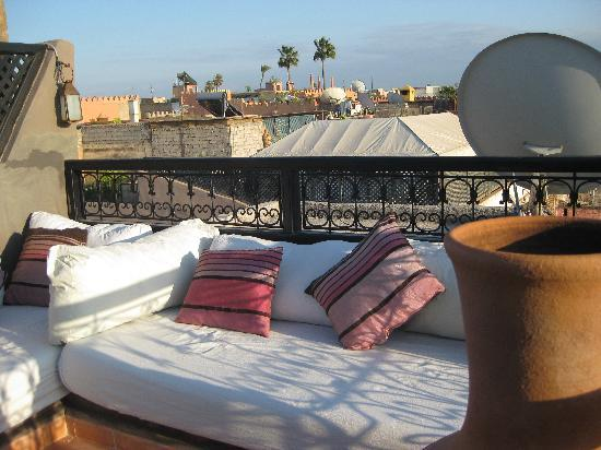 Riad Timila: View from one of the rooftop terraces