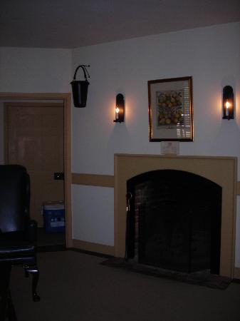 Working fireplace