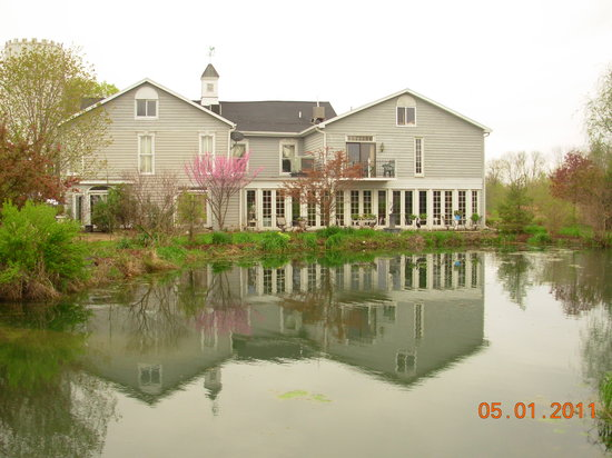 Inntiquity, A Country Inn: several beautiful ponds