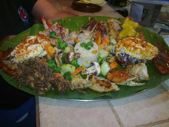 Las Mariscadas: Seafood Plater for two