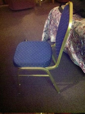 """Days Inn by Wyndham Dubuque: This is a """"workstation"""" chair."""