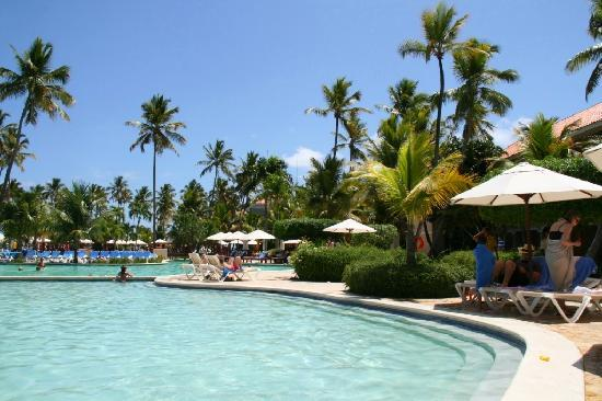 Dreams Palm Beach Punta Cana: View from Kid's Pool