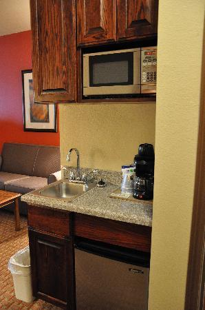 Holiday Inn Express Hotel & Suites: kitchen