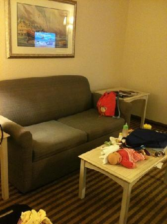 BEST WESTERN Plus Silver Creek Inn: pullout couch
