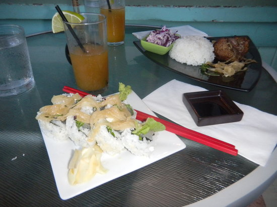 Sushi Rock and Trio: Steak, Sushi, and Mai-Tais - YES!