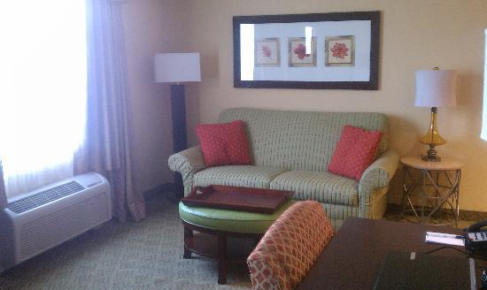 Homewood Suites West Palm Beach: The sitting area