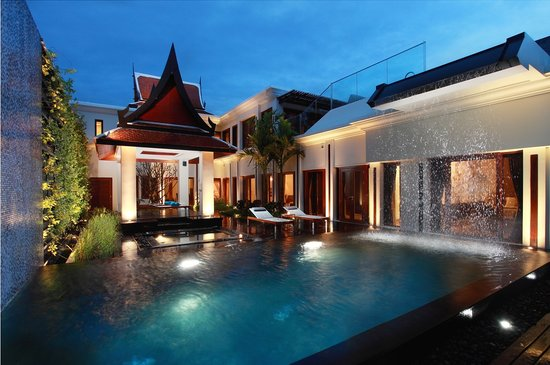 Mai Khao, Tailandia: 3-bedroom Ocean View Pool Villa