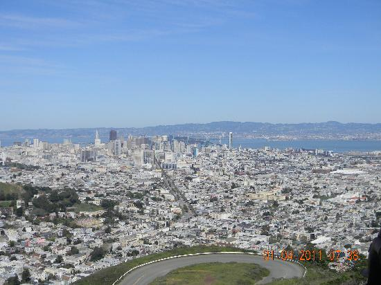 San Francisco, Kaliforniya: Twin Peaks gives you a great view of San Fransisco and surrounds