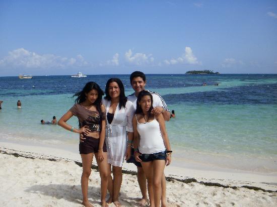 Hotel Arena Blanca: mi familia en este hermoso paraiso