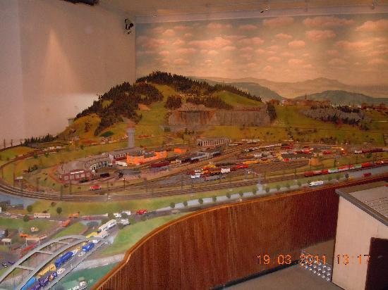 DB Museum (German Railway Museum): Modelleisenbahnanlage