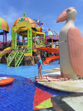 New Kuta Green Park: waterpark main area