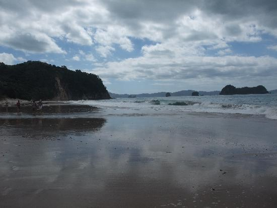 Hahei Bed and Breakfast: Hahei Beach towards Cathedral Cove