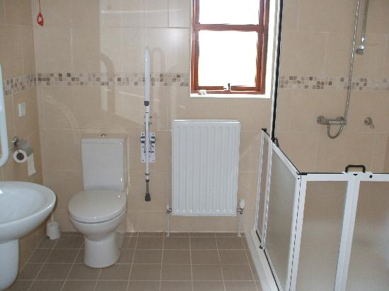 Tollyrose Country House : Disable shower room