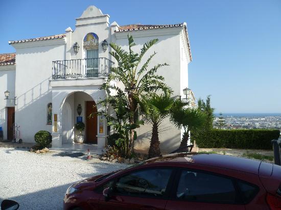 Hotel Villa Guadalupe: Entree