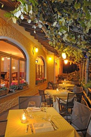 The Terrace of Chef Luigi into Salice Blu Restaurant