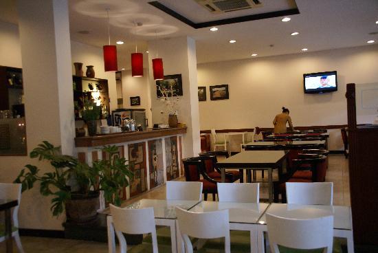 Thang Long Opera Hotel: Место завтрака (ресторан)