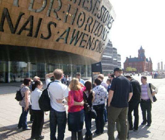 Filming Location Walking Tour Of Cardiff Bay