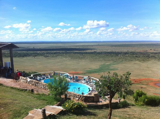Neptune Village Beach Resort & Spa: LODGE Safari Tsavo via JPP! superbe