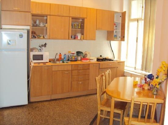 Central Hostel: kitchen