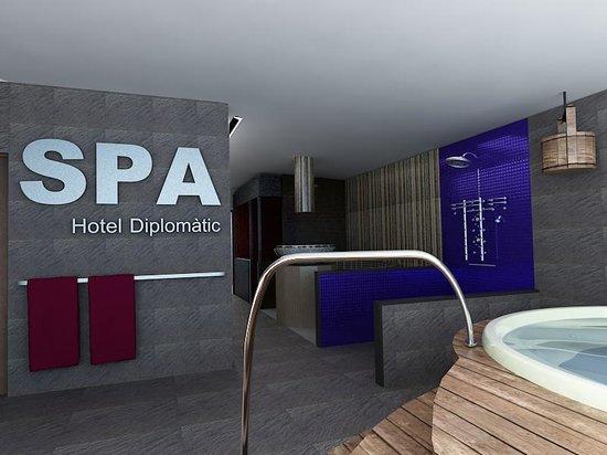 Zenit Diplomatic Hotel : SPA
