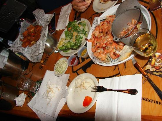 Bubba Gump Shrimp Co.: Shrimps zum sattwerden