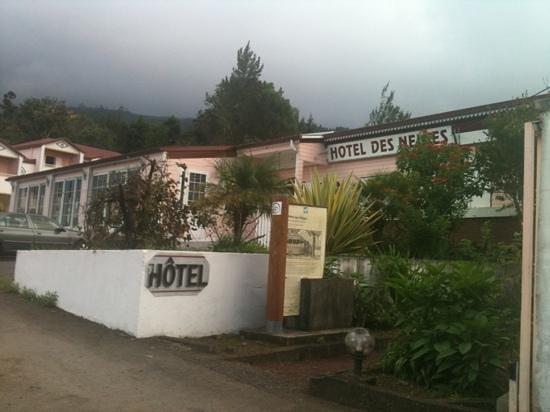 Hotel des Neiges : entrée réception