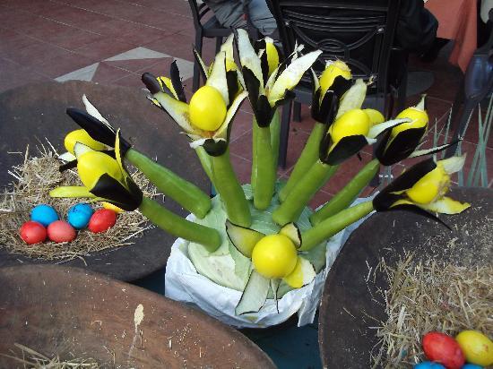 Sultan Beldibi: une des decorations de pâques