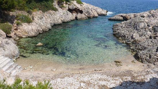 H10 Punta Negra Resort: Kieselige Bucht