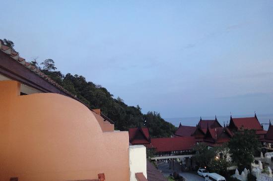 Aquamarine Resort & Villa: View from sea view deluxe rooms