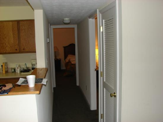 Tanglewood Golf Course and Condos: Hallway