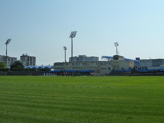 Mlada Boleslav, Tschechien: Stadion