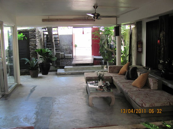 PapaCrab Boutique Guesthouse: Lobby